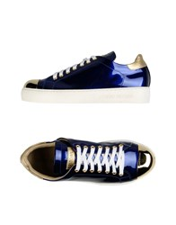 Luciano Padovan Footwear Low Tops And Trainers Women Bright Blue
