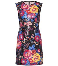 Diane Von Furstenberg Sequinned Sleeveless Mini Dress Multicoloured