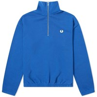 Fred Perry Winter Training Half Zip Sweat Blue