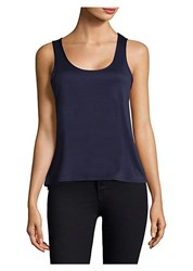 In Bloom Lace Back Camisole Navy