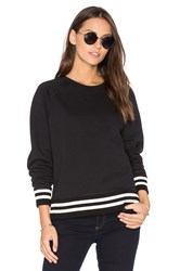 Rag And Bone Classic Varsity Sweatshirt Black