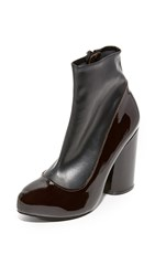 Jeffrey Campbell Sequel Low Booties Black