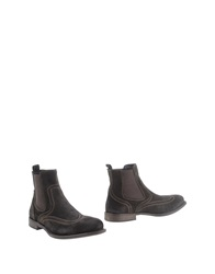 Enrico Fantini Ankle Boots Dark Brown