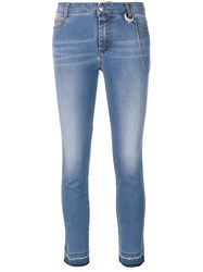 Ermanno Scervino Cropped Jeans Blue