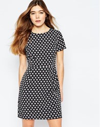 Sugarhill Boutique Shift Dress In Elephant Print Black