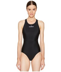 Adidas By Stella Mccartney Performance Zip Swimsuit Bs1150 Black Women's Swimsuits One Piece