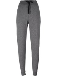 Michael Kors Tapered Track Pants Men's Size Xl Grey