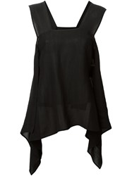 Lost And Found Ria Dunn Banded Top Black