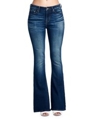Cult Of Individuality Leisure Flare Bootcut Pants Vintage Blue