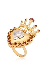 Dolce And Gabbana Sacred Heart Ring