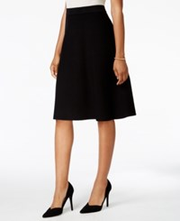 Charter Club Petite A Line Skirt Only At Macy's Deep Black