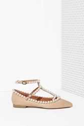 Nasty Gal Jeffrey Campbell Gaby Leather Flat