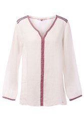 Tommy Hilfiger Embroidered Tunic White