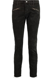 Current Elliott The Soho Zip Stiletto Corduroy Skinny Jeans