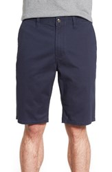 Men's Element 'Howland' Stretch Cotton Twill Shorts Eclipse Navy