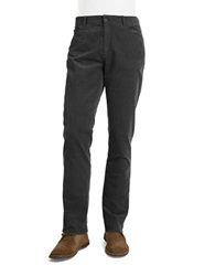 Michael Kors Straight Leg Corduroy Pants Grey