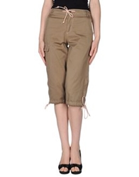 St Martins St Martins 3 4 Length Shorts Military Green