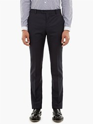 Editions M.R Navy Suit Trousers Blue