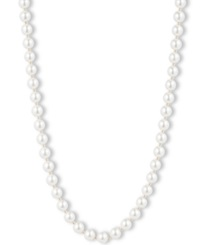 Anne Klein Blanc Faux Pearl Collar Necklace