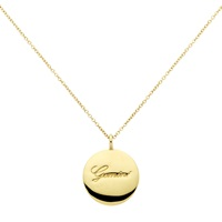 Cachet London Gold Plated Swarovski Crystal Gemini Pendant Necklace Gold