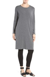Eileen Fisher Women's Stretch Tencel Jersey Shift Dress