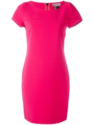 Tony Cohen Shift Dress Pink Purple