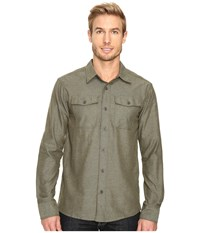 Outdoor Research Gastown Long Sleeve Shirt Kale Men's Clothing Green