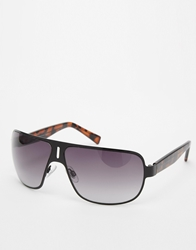 French Connection Aviator Sunglasses Brown