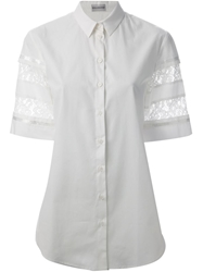 Philosophy Di Alberta Ferretti Lace Detail Shirt