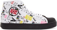 Alyx White And Black Heelys Edition High Top Sneakers