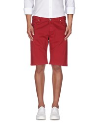 Roy Rogers Roy Roger's Trousers Bermuda Shorts Men Red
