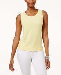 Jm Collection Petite Jacquard Tank Only At Macy's Snapdragon