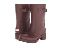 Hunter Original Ankle Boot Umber Women's Rain Boots Brown