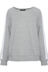 W118 By Walter Baker Parker French Cotton Blend Terry Sweatshirt Stone