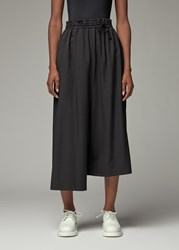 Yohji Yamamoto Y's By 'S Drawstring Waist Pant In Black Size 1