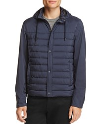 Herno Hooded Puffer Jacket Navy