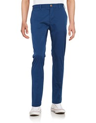 Brooks Brothers Cotton Chino Pants Blue