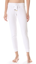 Juicy Couture Cozy Terry Pants White