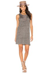 Fine Collection Tank Dress Gray