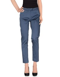 Ekle' Trousers Casual Trousers Women Slate Blue