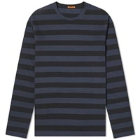 Barena Long Sleeve Luigi Tee Blue