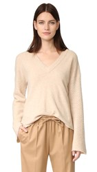 Feel The Piece Wesley Sweater Camel Heather