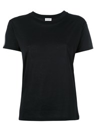 Saint Laurent Classic Cut T Shirt Black