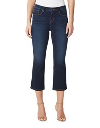 Miraclebody Jeans Desire Cropped Bootcut Royal Wash