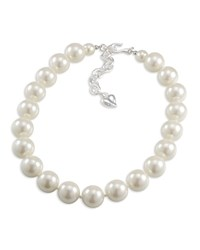Carolee Strand Necklace 16 White