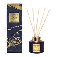 Stoneglow Luna Reed Diffuser Leather And Saffron
