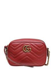 Gucci Mini Gg Marmont 2.0 Leather Bag