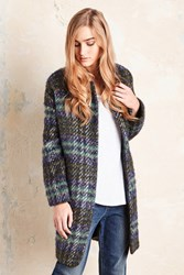 Ottod'ame Evergreen Checked Coat