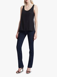 French Connection Clee Crepe Vest Top Black