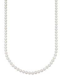 Belle De Mer Pearl Necklace 36' 14K Gold A Akoya Cultured Pearl Strand 7 7 1 2Mm